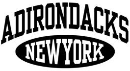 Adirondacks NY t-shirts