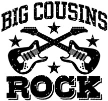 Big Cousins Rock t-shirt