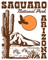 Saguaro National Park t-shirts