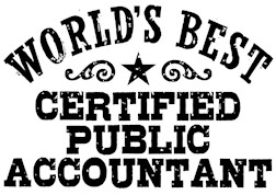 World's Best Certified Public Accountant t-shir