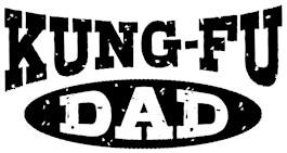 Kung Fu Dad t-shirt