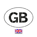 great britain touring sticker
