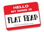 Hello My Name Is Flat Head