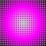Pink Hoop Dots Full Fade