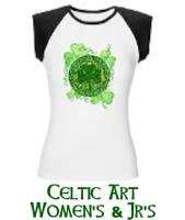 Celtic Art Women's & Jr's Shirts, Tanks & Hoodies