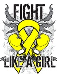 Endometriosis Ultra Fight Like a Girl Shirts