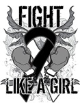 Carcinoid Cancer Ultra Fight Like a Girl Shirts
