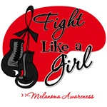 Fight Like a Girl Melanoma Shirts