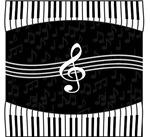 Designer Musical notes design
