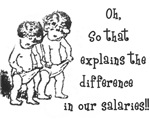 Difference in salaries T-Shirts and Gifts