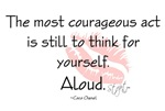 Think For Yourself Quote