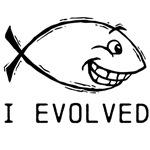 Jesus Fish Evolved