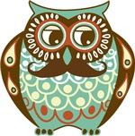 Mustache Owl