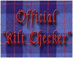 Kilt Checker Blue