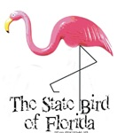 State Bird of Florida Flamingo