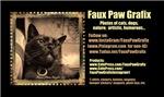 Faux Paw Grafix Bus Cards
