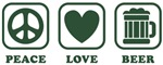 Peace Love Beer [green]