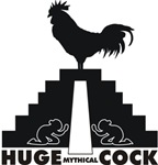 Huge Mythical Cock White