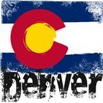 Denver Grunge Flag
