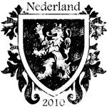 Netherlands - Crest - Black