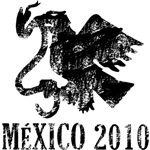 Mexico - Eagle - Black