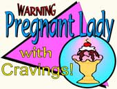 Expectant Mom > Pregnant Lady With Cravings