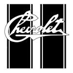 old school chevrolet racing stripes