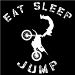 Eat Sleep Jump FMX White