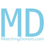 Matching Donors-Light Blue