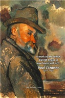 Paul Cezanne self Portrait: Emotion Artistic Quote