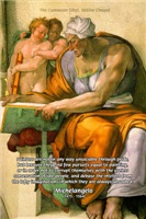 Michelangelo Art Philosophy Elevation of Painters