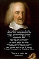 Thomas Hobbes: Political Philosophy / War Quotes