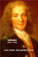 French Philosopher Author Voltaire: Love Truth