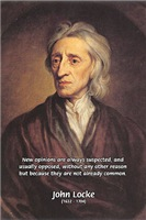 Opinion and John Locke: Resistance to Change