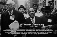 Martin Luther King Jr. Morality Good Evil Thoreau