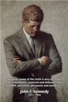 Truth and Myth: President John F. Kennedy