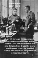 Marie Curie: Wonderful World of Science