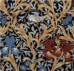 William Morris Iris Designs