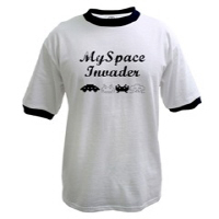 Men's MySpace Invaders T-shirts