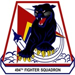 494th Fighter Squadron 'Panthers' - F-15E