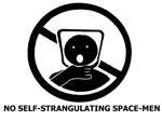 No Self-Strangulating Space-Men
