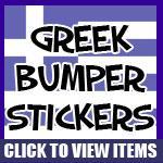 Greek Bumper Stickers
