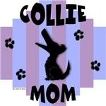 Collie Mom - Blue/Purple Stripe
