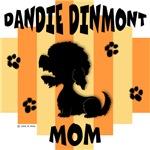 Dandie Dinmont Terrier Mom - Yellow/Orange Stripe