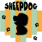 Sheepdog Green/Orange Stripe