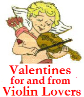 Valentines Day for Violin Lovers