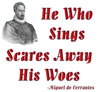 Cervantes-He Who Sings