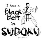 i have a black belt in sudoku