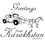 Greetings from Kazakhstan