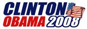 Clinton / Obama 2008